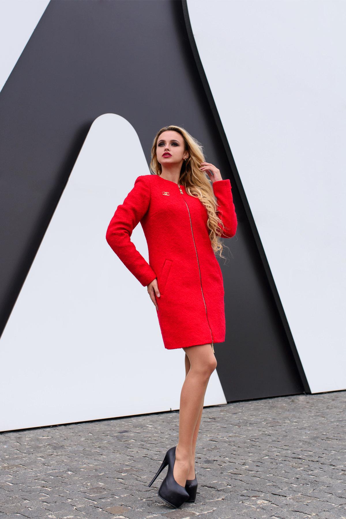 Купить пальто в Украине оптом Пальто Сан-Ремо лайт букле кр