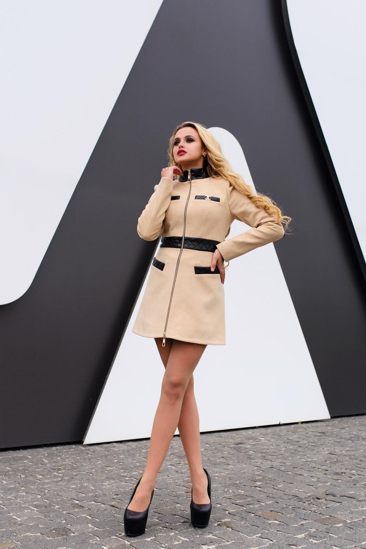 Купить пальто оптом Украина Пальто Фрея 4896