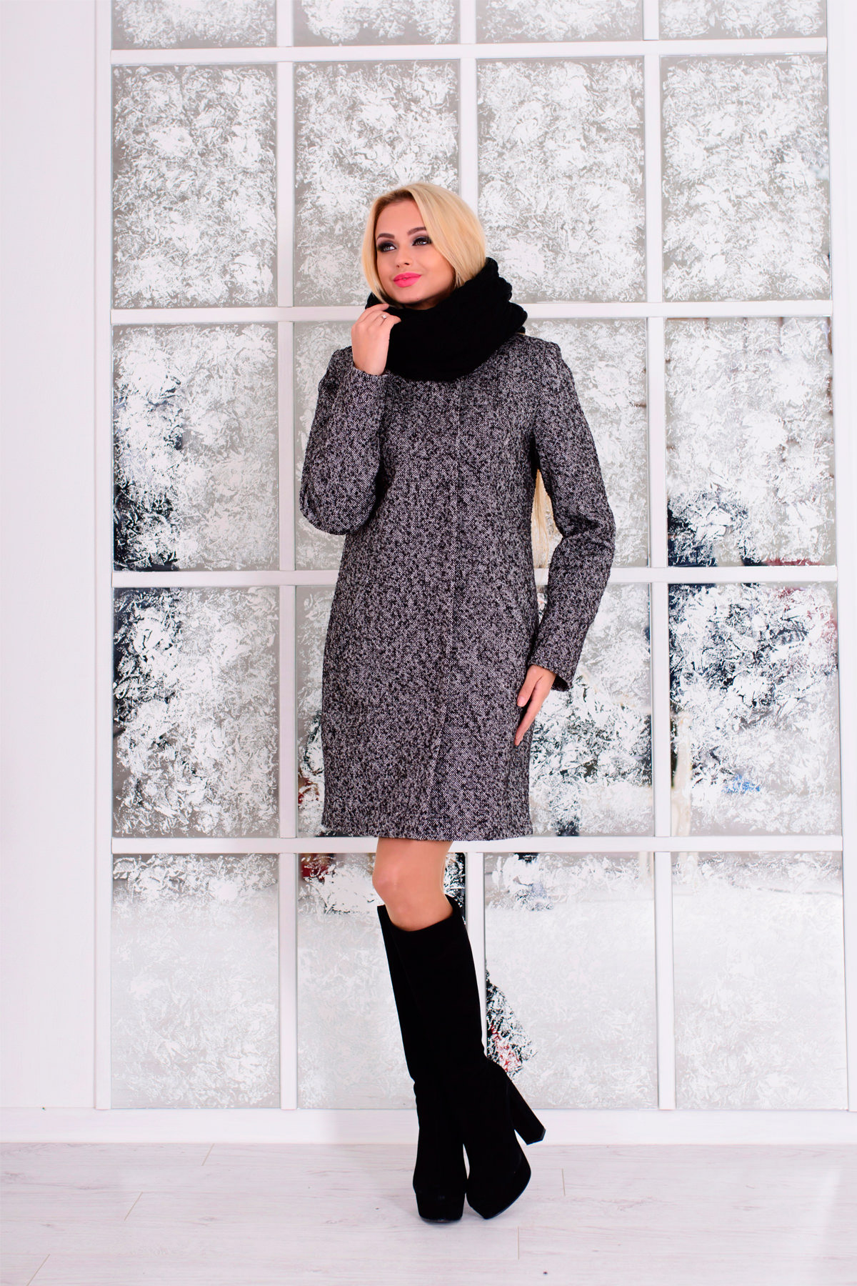 Модус женская одежда оптом недорого Пальто Фортуна 0575