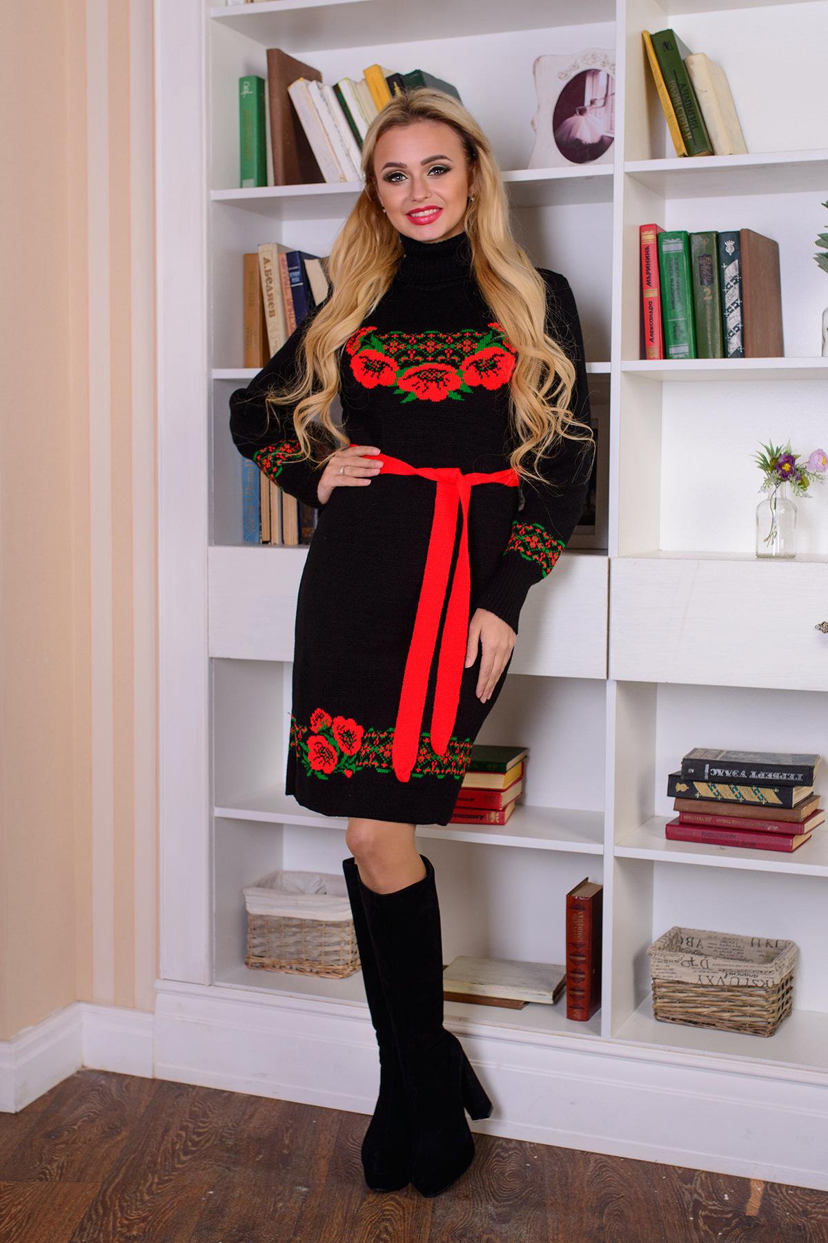 Купить вязаное платье оптом