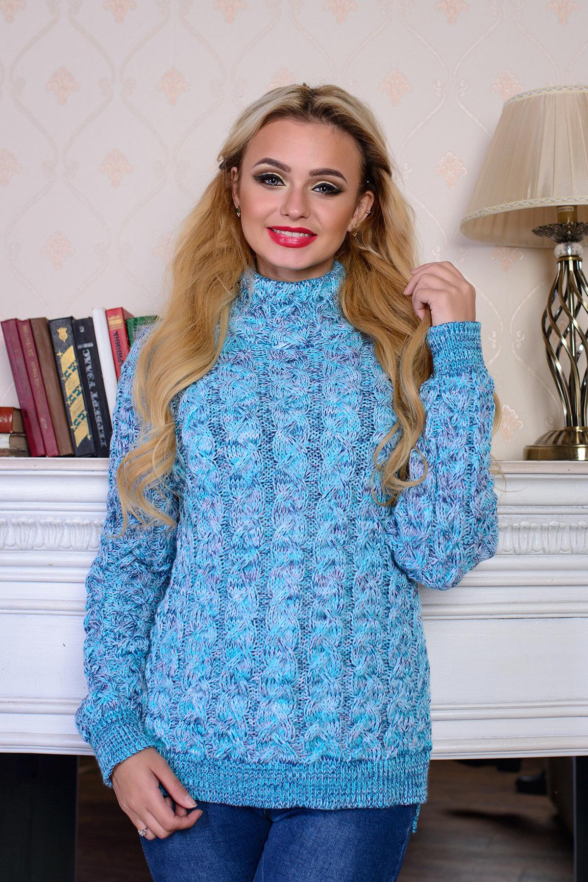 модели вязаных свитеров для женщин Свитер Мила