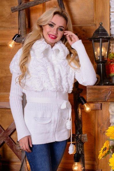 Куртка Малышка мех Цвет: Белый