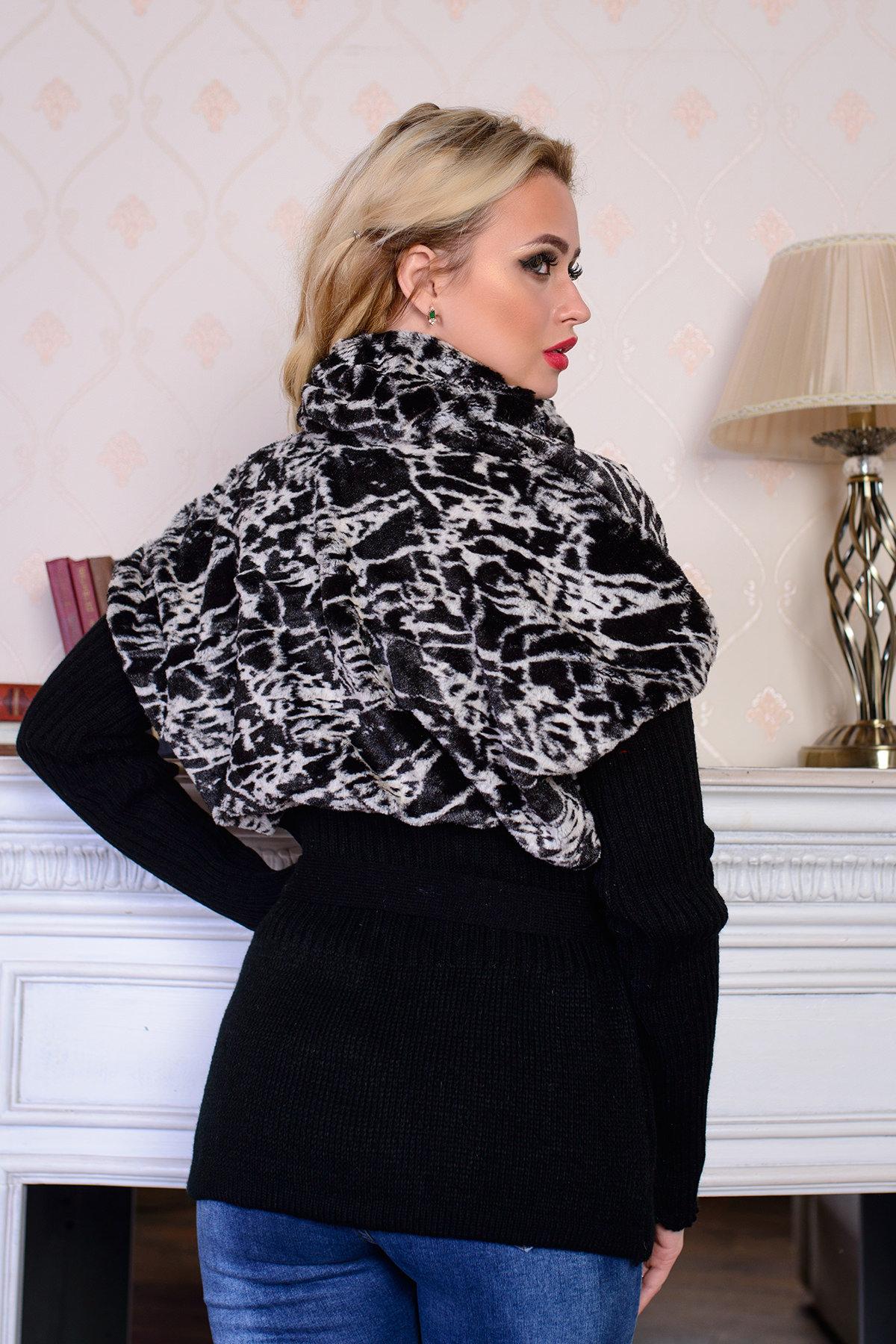 Куртка Малышка мех АРТ. 7630 Цвет: паутинка - фото 3, интернет магазин tm-modus.ru