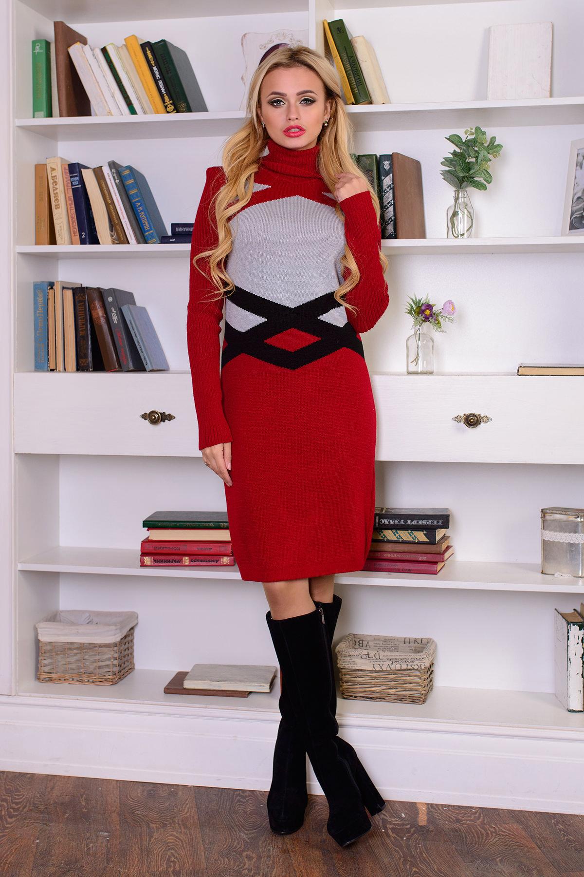 купить вязаное платье Платье Катерина