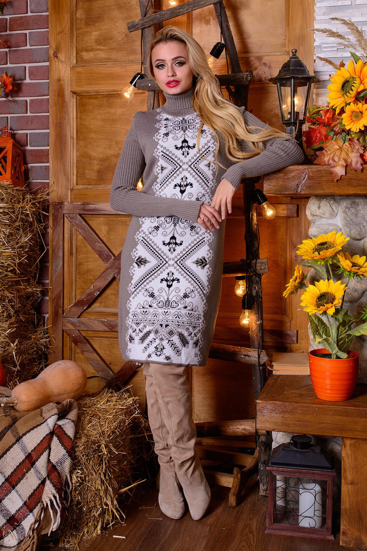 платья вязаные от производителя Платье Ольга