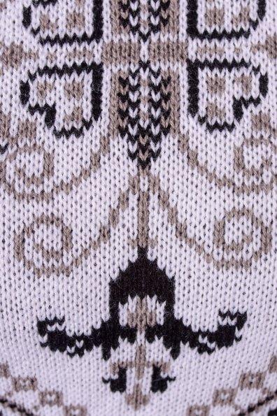 Платье Ольга Цвет: Капучино/белый/черный