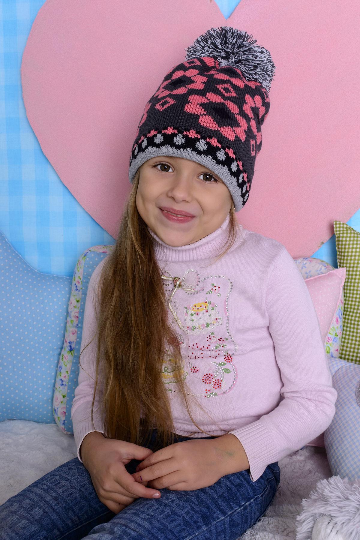 Шапки оптом в Украине Шапка детская Прада