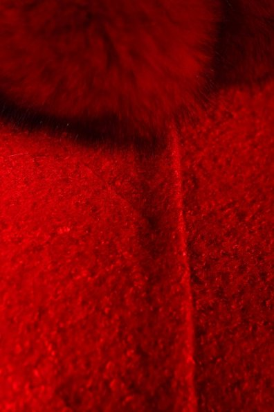 Пальто Луара 0572 Цвет: Красный