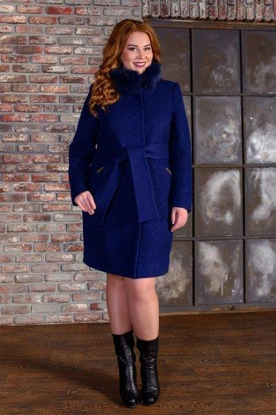 """Купить Пальто """"Луара лайт букле крупное песец зима"""" оптом и в розницу"""