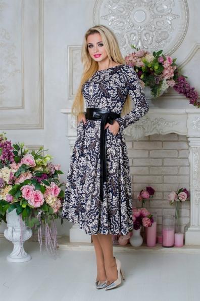 """Купить Платье """"Карен лайт принт франц люрекс"""" оптом и в розницу"""