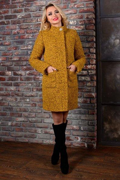 """Купить Пальто """"Мелини букле крупное зима б/м"""" оптом и в розницу"""