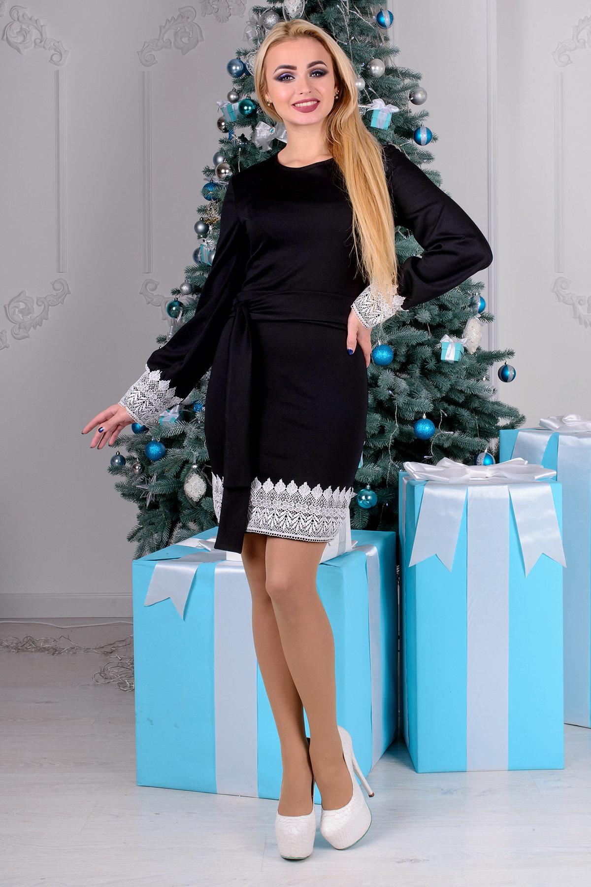 Купить женскую одежду оптом Платье Кружево
