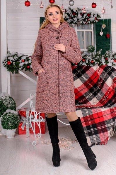 """Купить Пальто """"Делфи букле крупное зима"""" оптом и в розницу"""