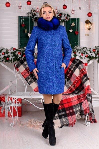 """Купить Пальто """"Фортуна лайт букле крупное зима песец"""" оптом и в розницу"""