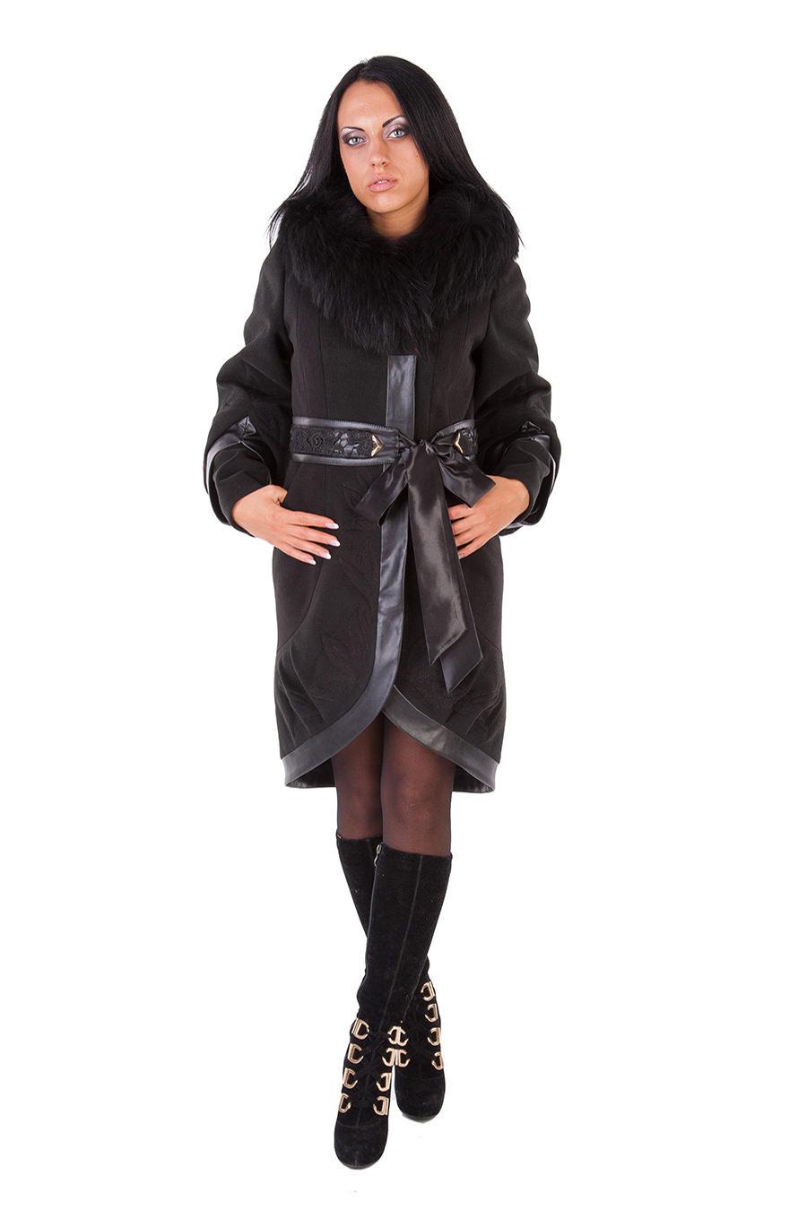 Модус женская одежда от производителя Пальто Шикара зима енот