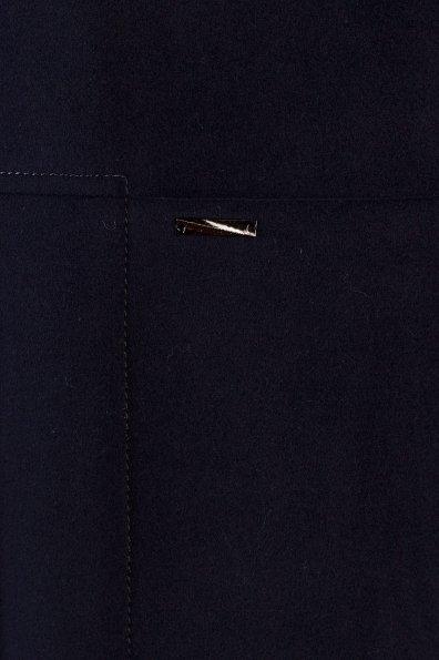 Пальто Дакс 1454 Цвет: Тёмно-синий