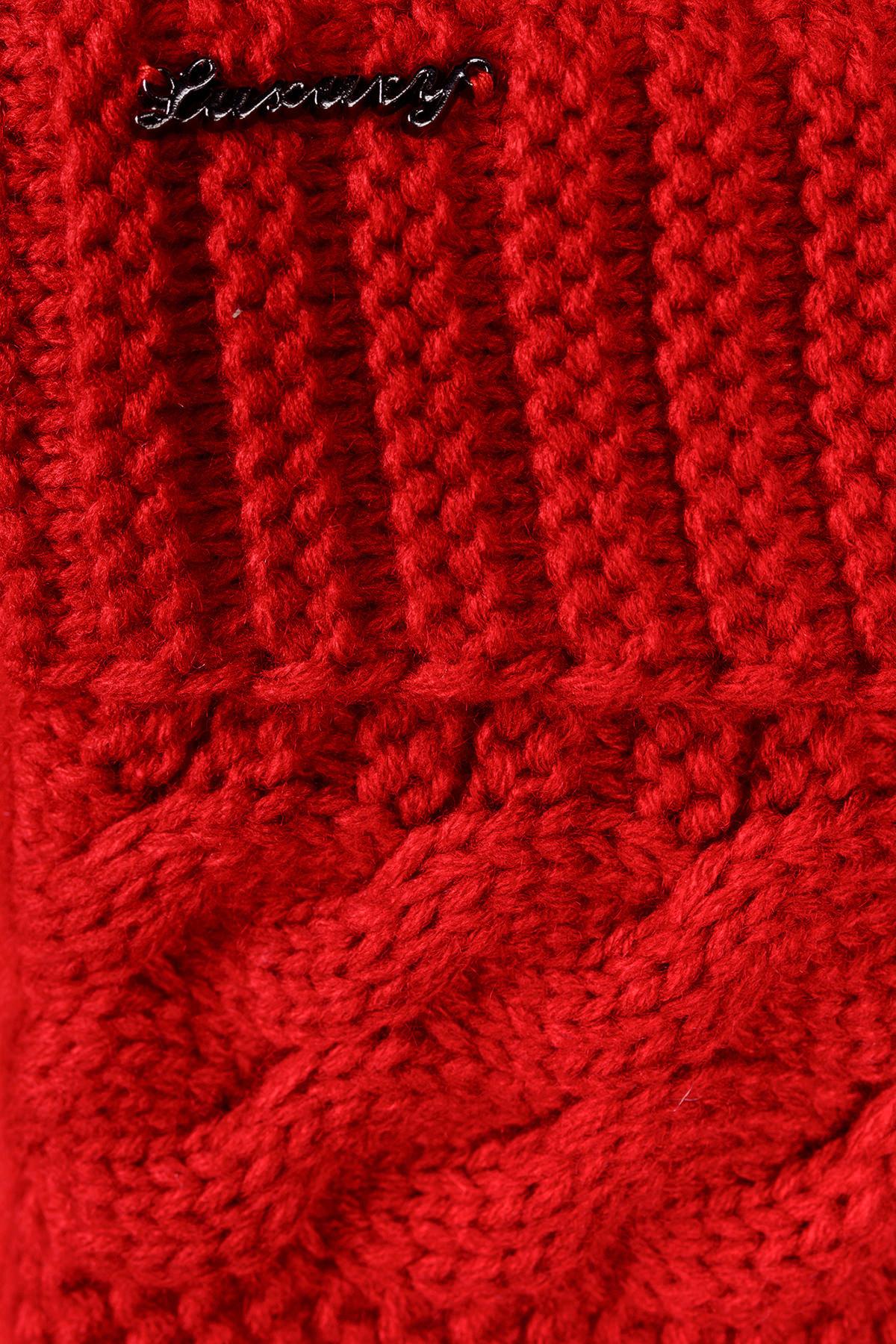 Пальто Джи 1447 АРТ. 9057 Цвет: Красный - фото 4, интернет магазин tm-modus.ru