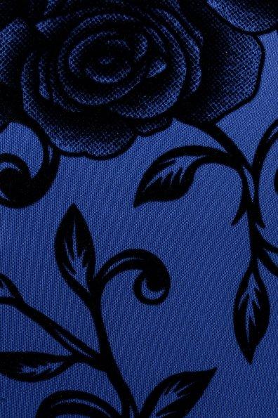 Платье Шамбор 1362  Цвет: Электр Розы черн 2