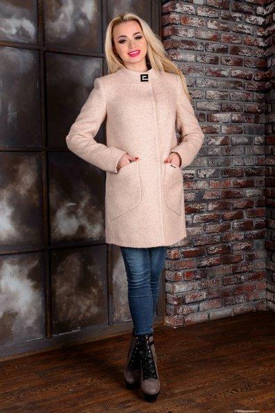 """Купить Пальто """"Мирта лайт крупное букле"""" оптом и в розницу"""