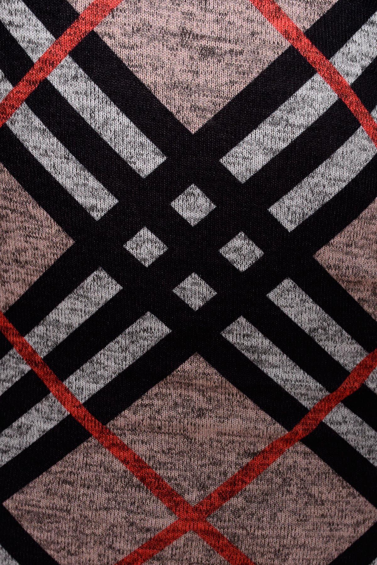Платье 4183 Цвет: Серый / черный