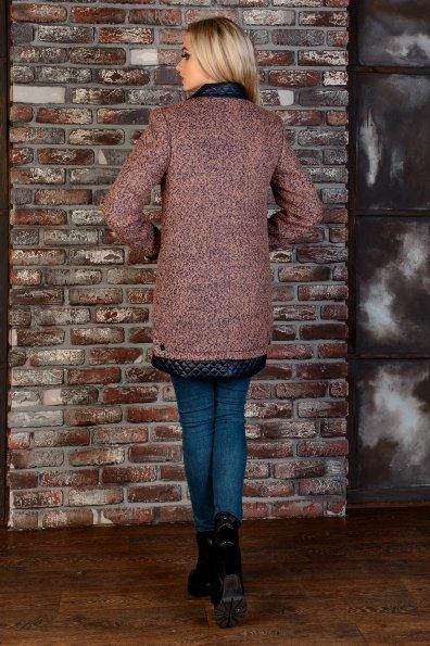 Пальто Астор 1052 Цвет: Какао/тёмно-синий