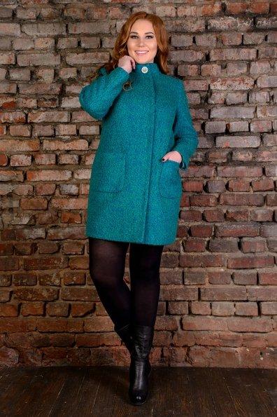"""Купить Пальто """"Мелини Donna букле крупное""""  оптом и в розницу"""