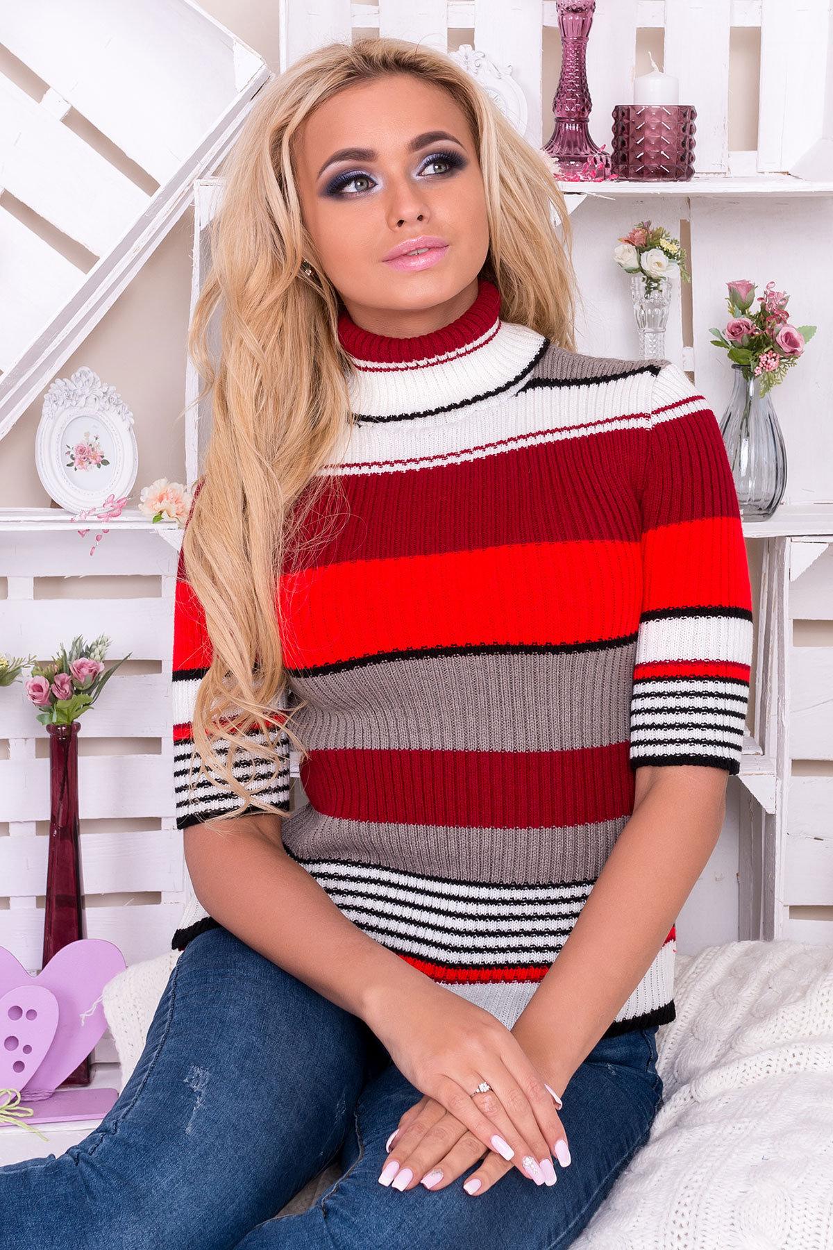 вязаные свитера женские купить Гольф Кроха