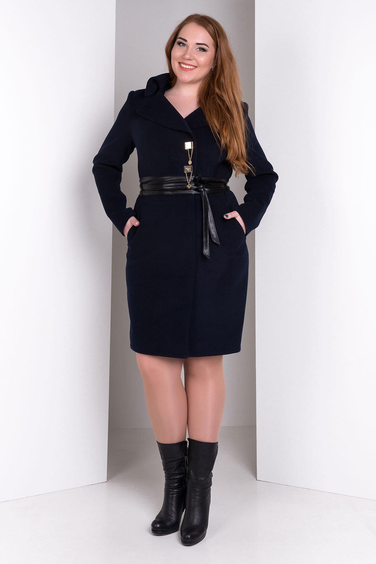 Пальто Магия Donna Цвет: Тёмно-синий