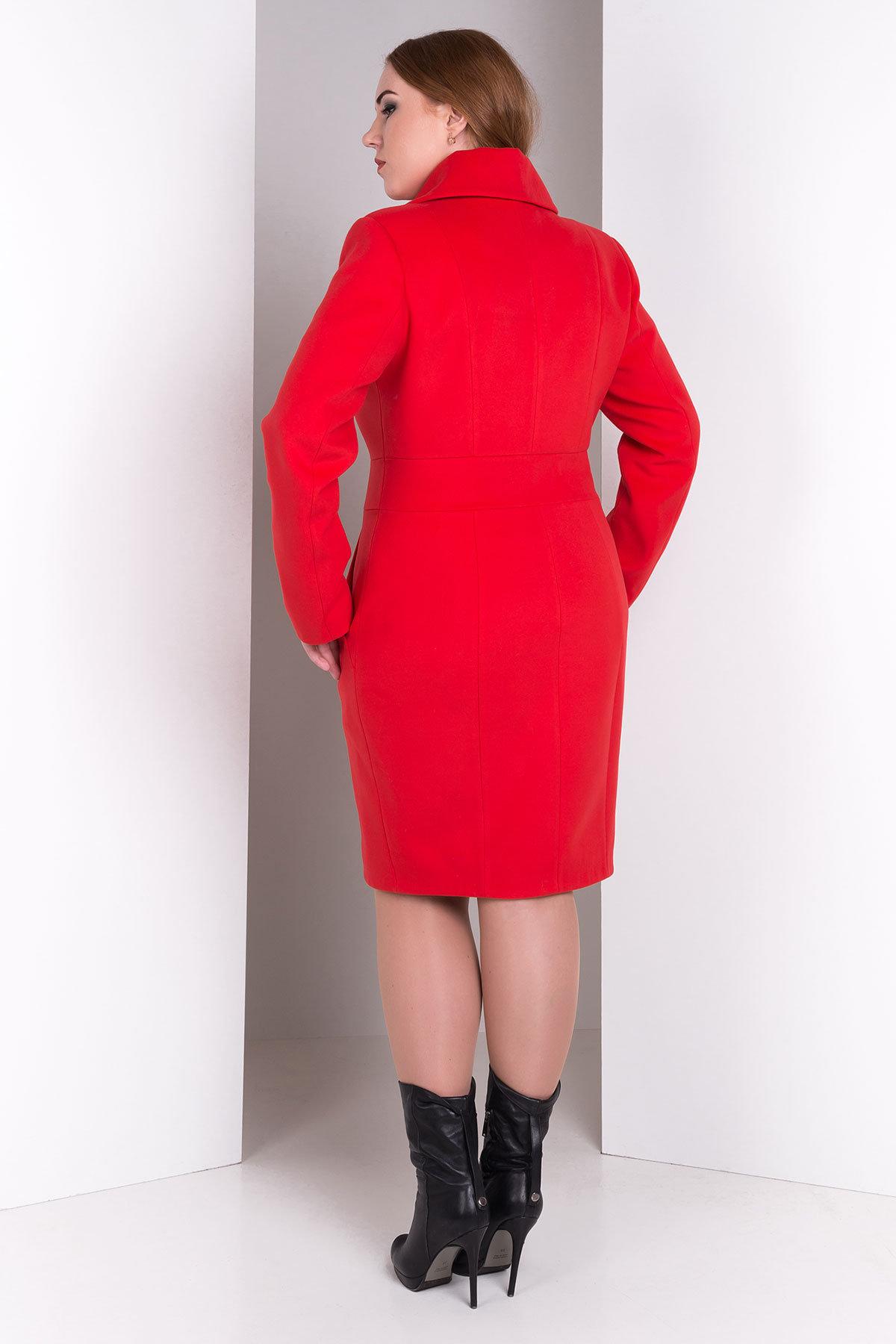 Пальто Магия Donna Цвет: Красный B-020