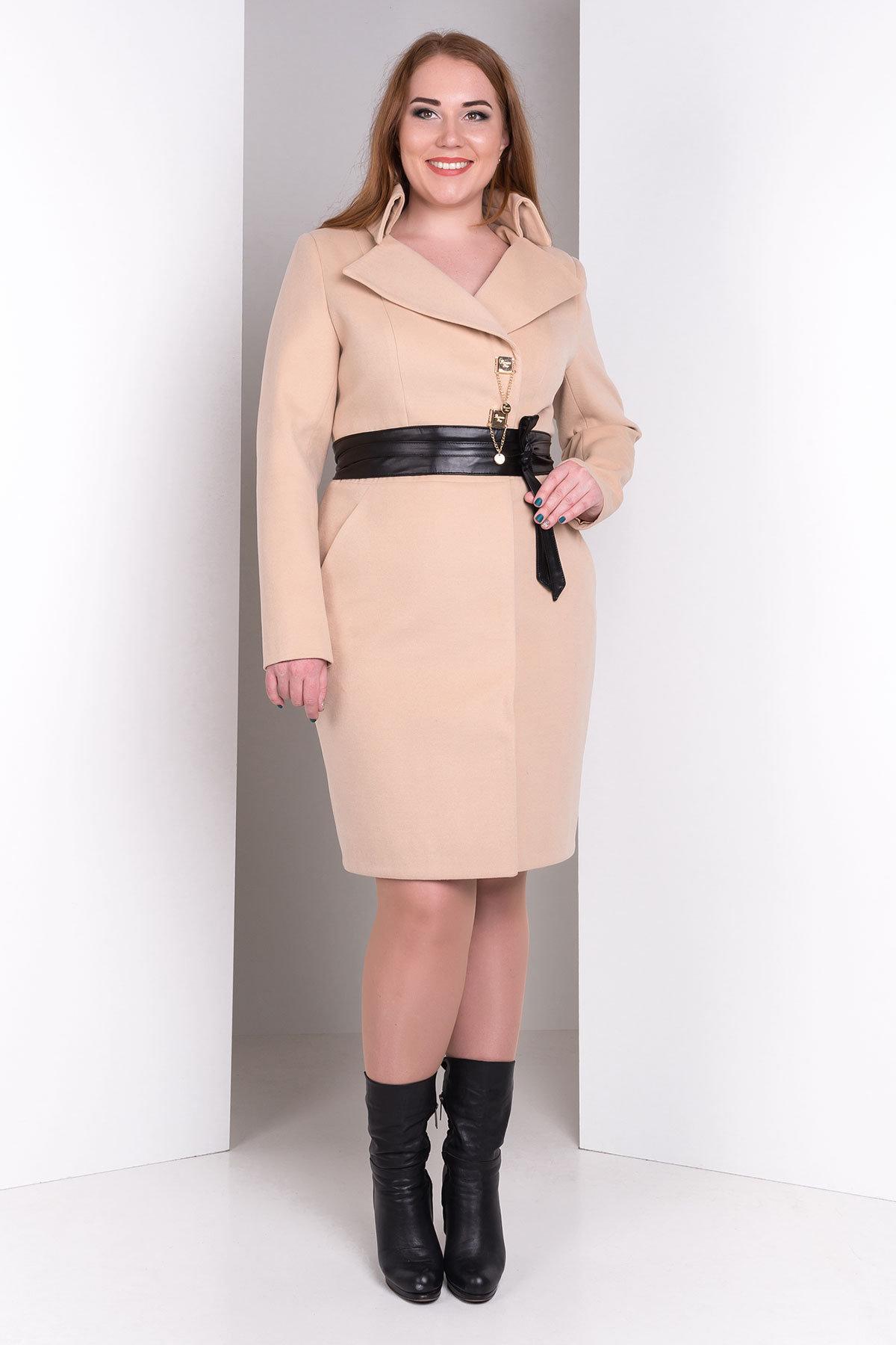 женские демисезонные пальто больших размеров Пальто Магия Donna