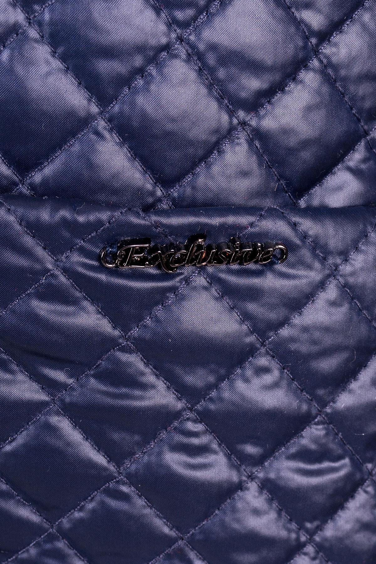 Пальто Кари 1981  АРТ. 10027 Цвет: Тёмно-синий - фото 4, интернет магазин tm-modus.ru