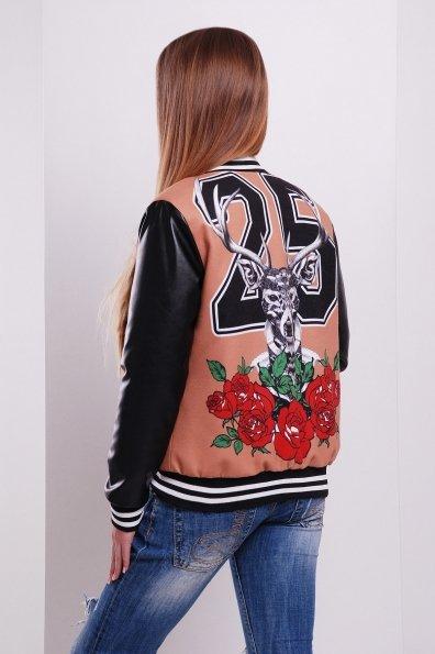 """Купить Куртка """"Олень-роза Бомбер"""" оптом и в розницу"""