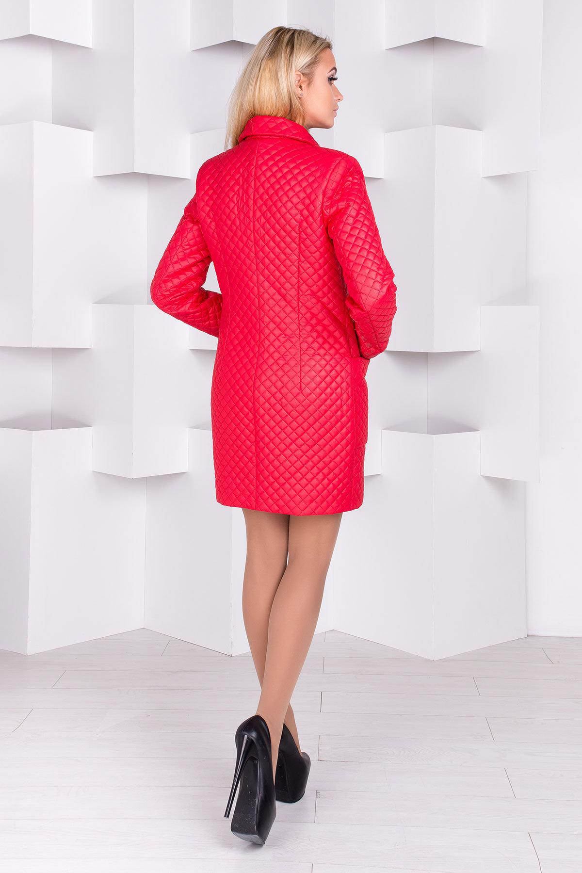 Пальто Кари 1981  Цвет: Красный