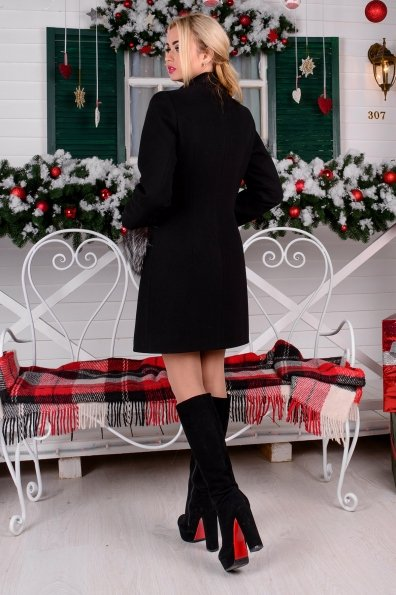 """Купить Пальто """"Мелини (76) меховые карманы"""" оптом и в розницу"""