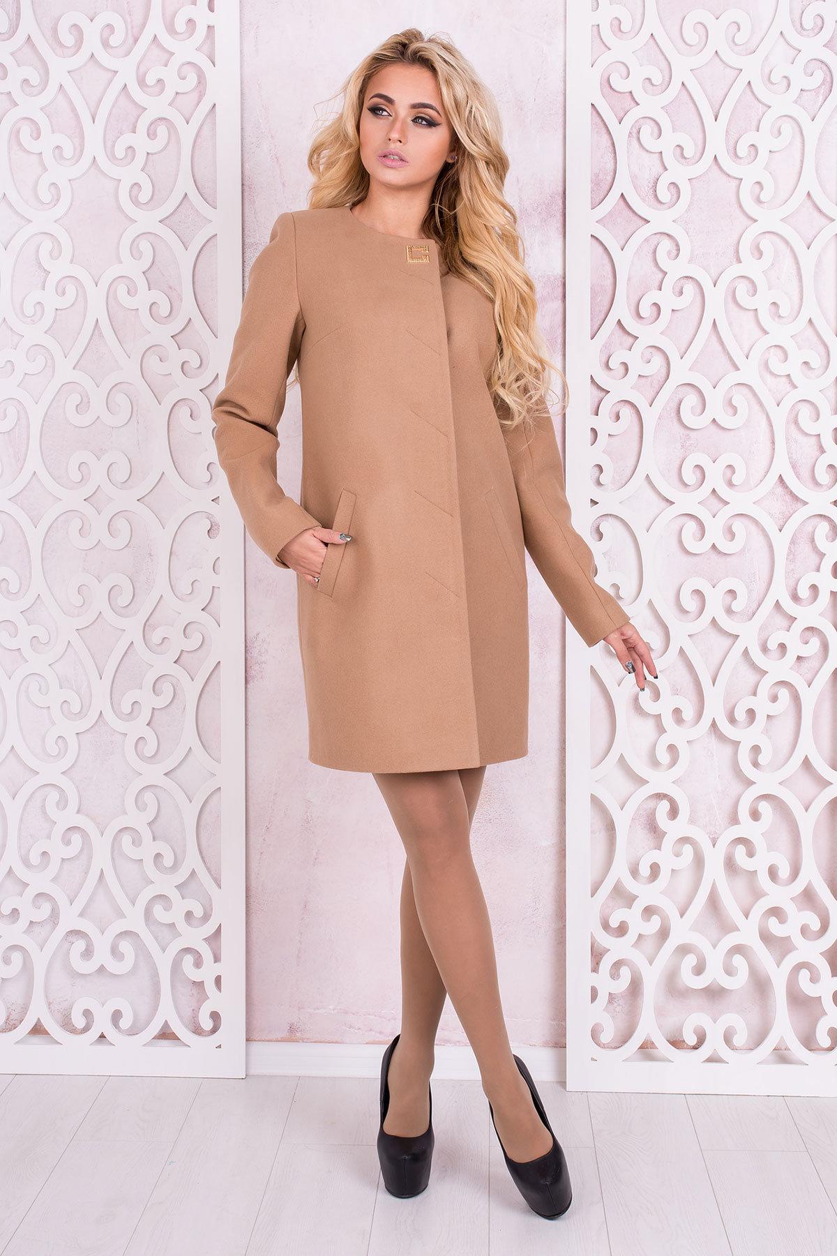 женские демисезонные пальто производитель харьков Пальто Фортуна 4812