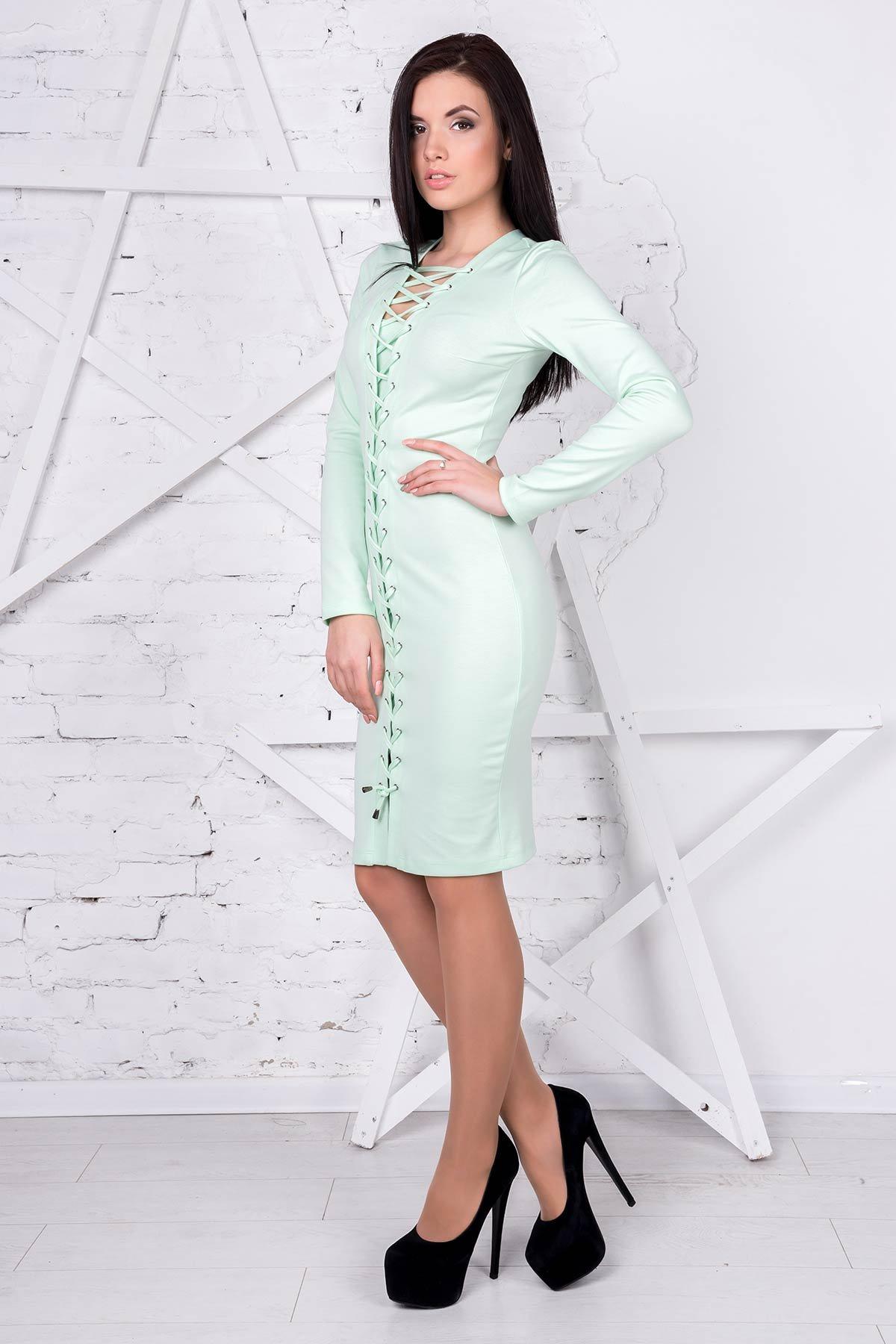 Платье Твин 1923  Цвет: Салат