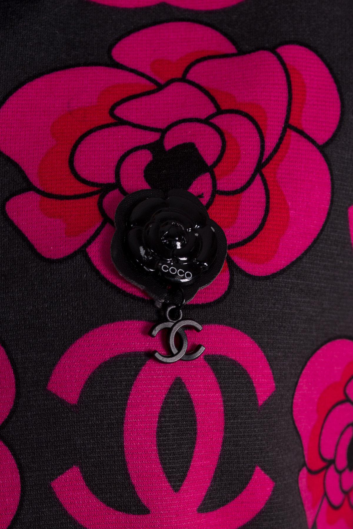 Платье 0059  АРТ. 10016 Цвет: Тёмно-серый/розовый - фото 4, интернет магазин tm-modus.ru