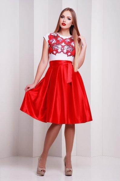 """Купить Платье """"Ирис красный платье Ирика б/р"""" оптом и в розницу"""