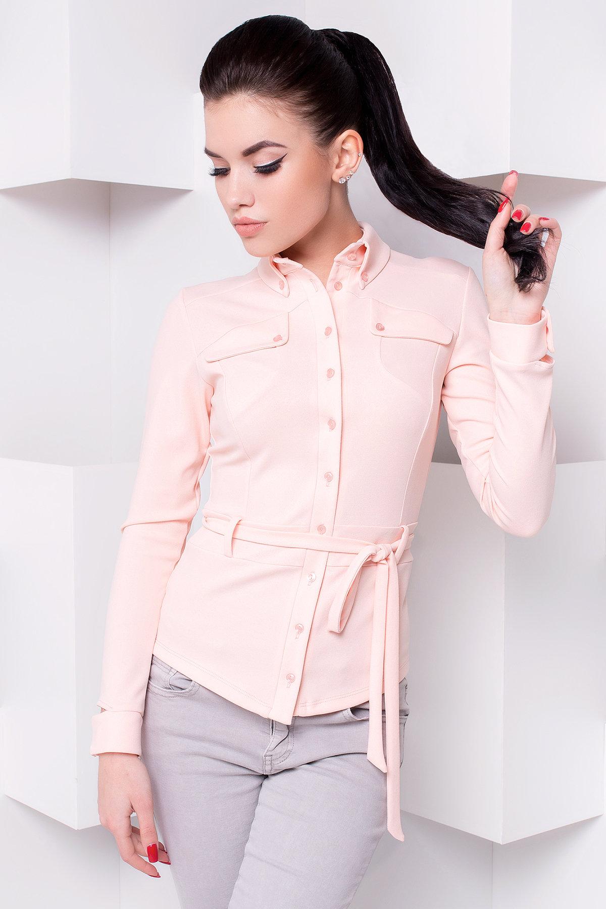 Блуза Соня д/р 2302 Цвет: Персик