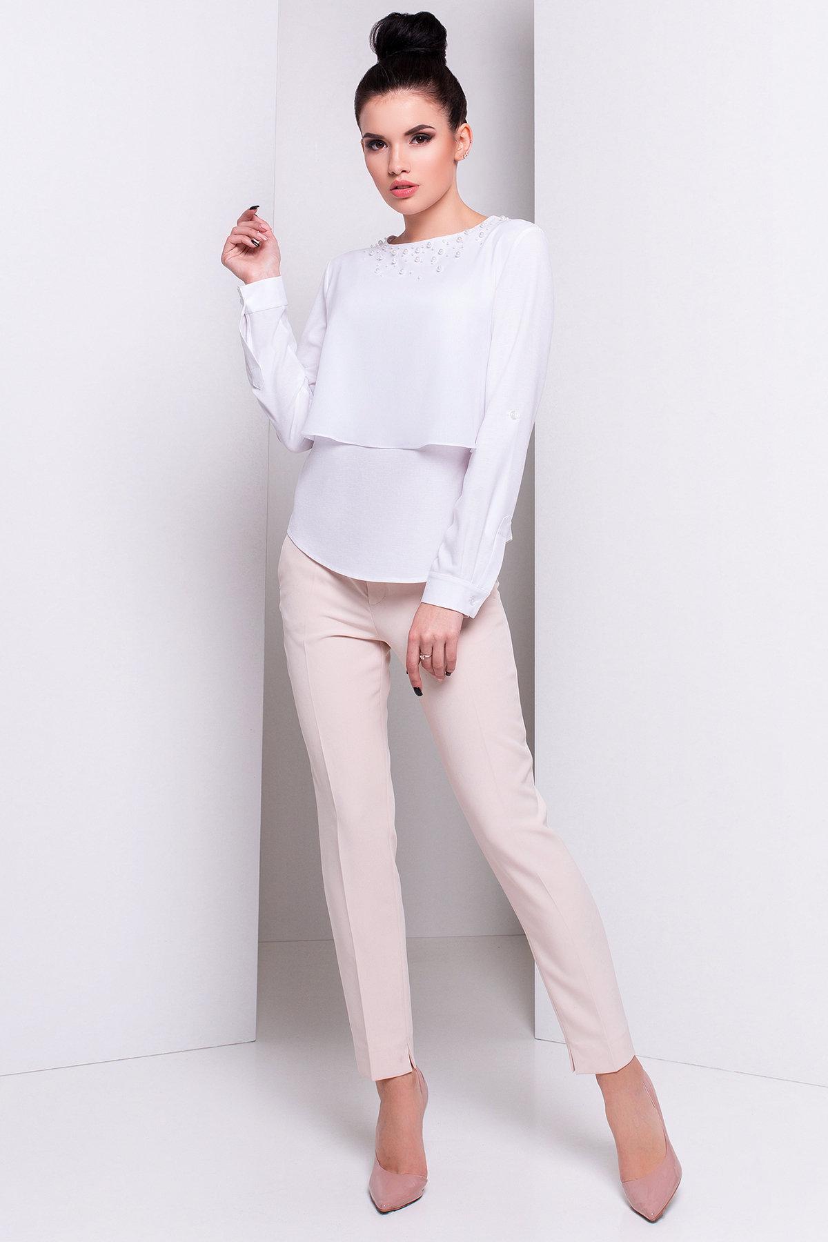 Оптом офисные блузы Modus Блуза Ноа жемчуг 2795