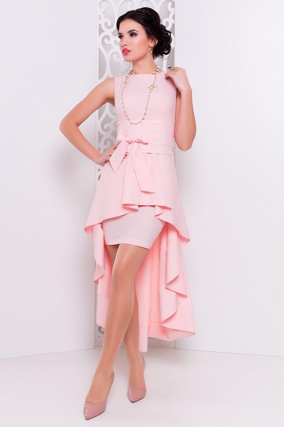 Платье Афродита 238 Цвет: Персик