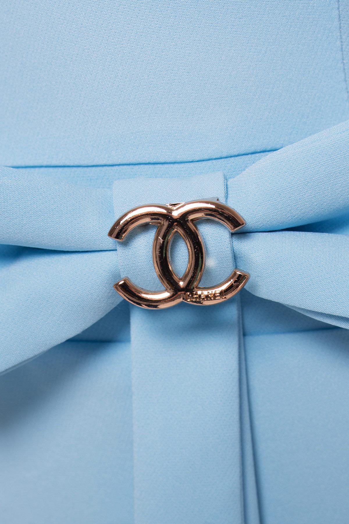 Платье Жаде 131 АРТ. 14955 Цвет: Голубой - фото 3, интернет магазин tm-modus.ru