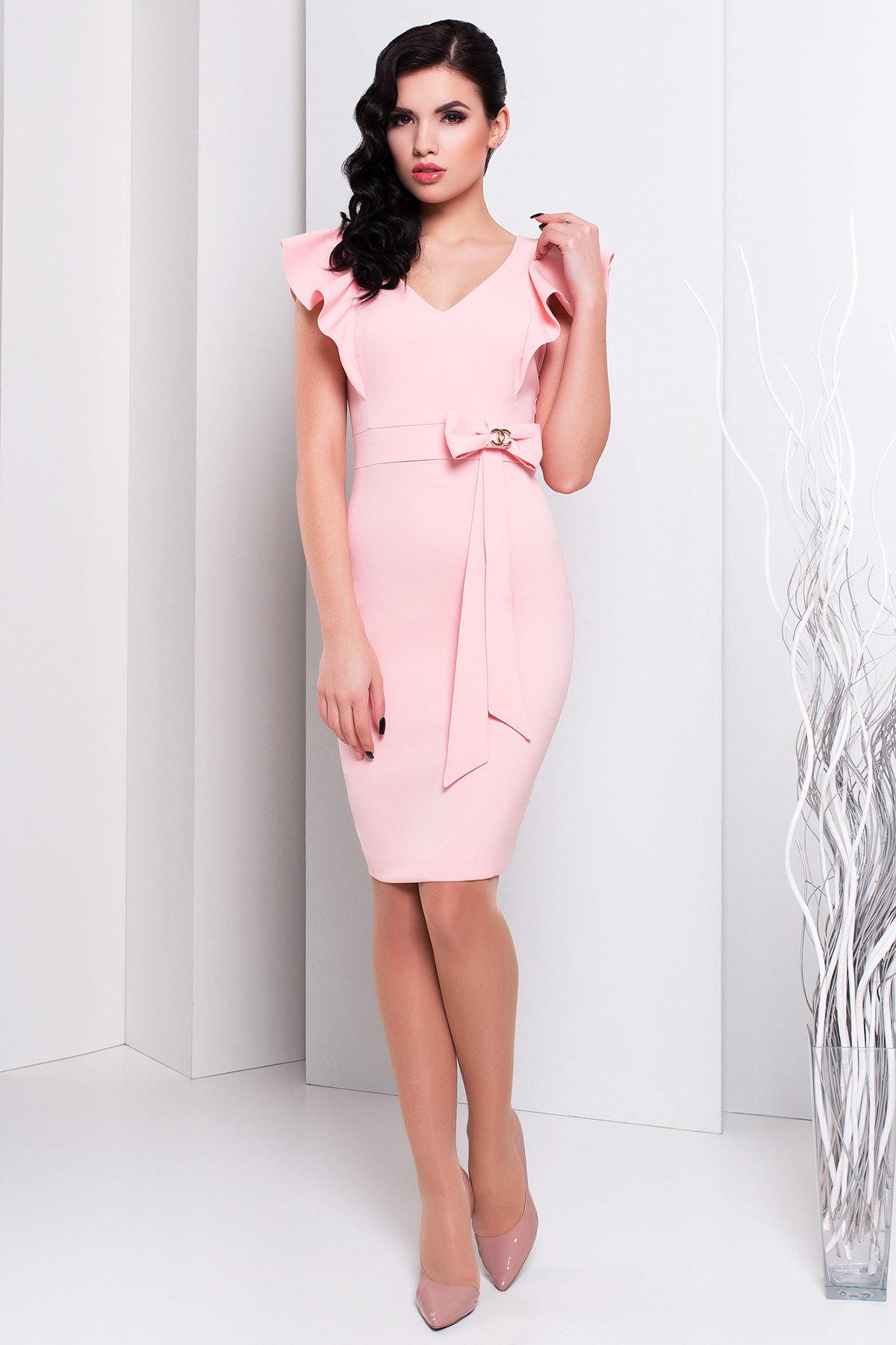 Купить женское трикотажное платье оптом Платье Жаде 131