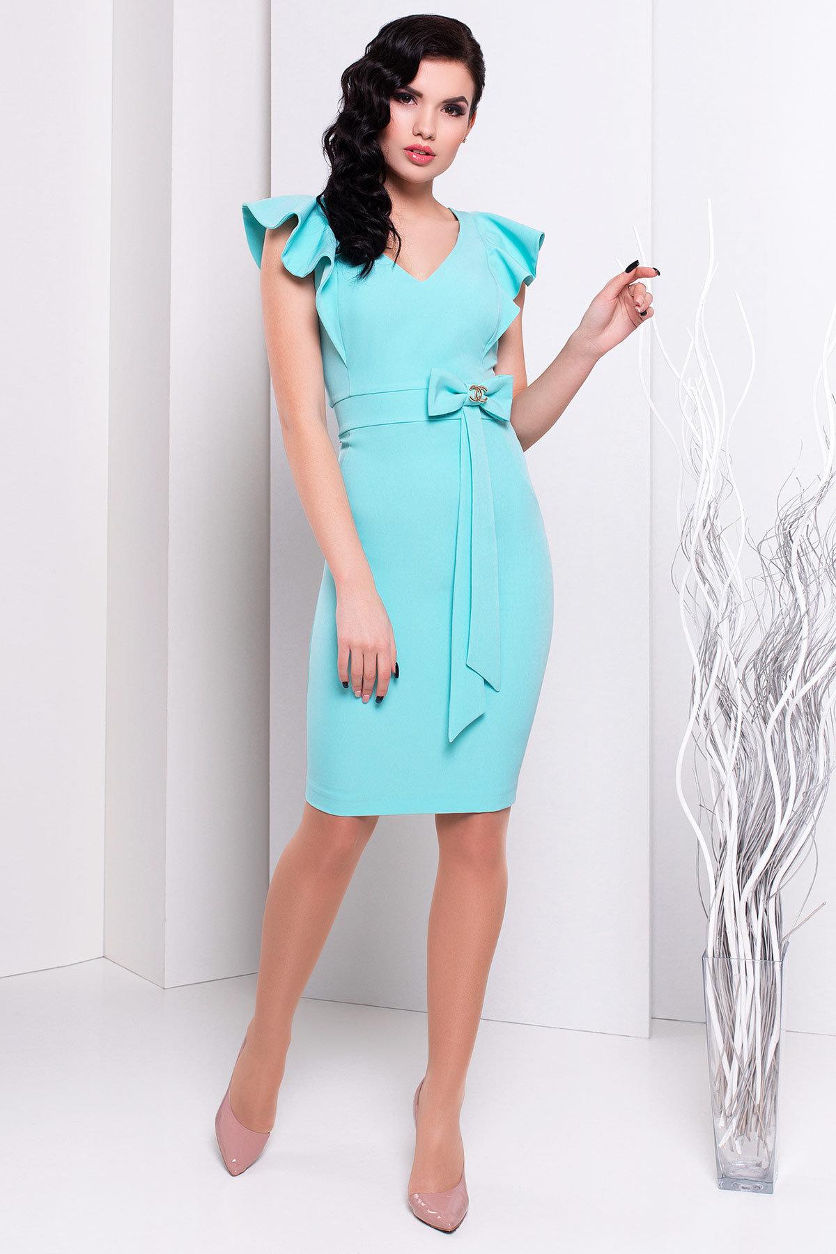 Платья трикотажные оптом от производителя Платье Жаде 131