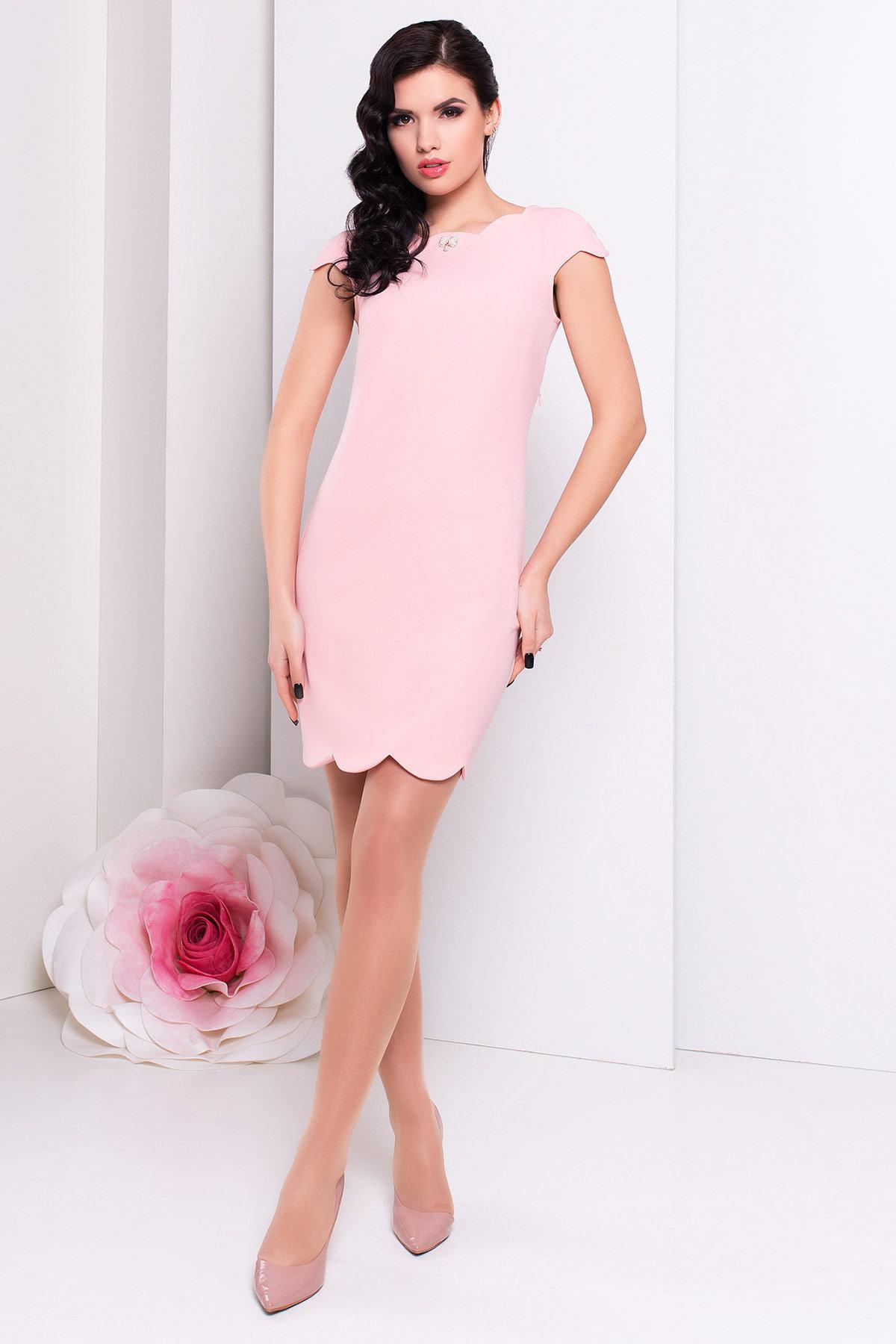 Платья трикотажные оптом от производителя Платье Вельмина 154