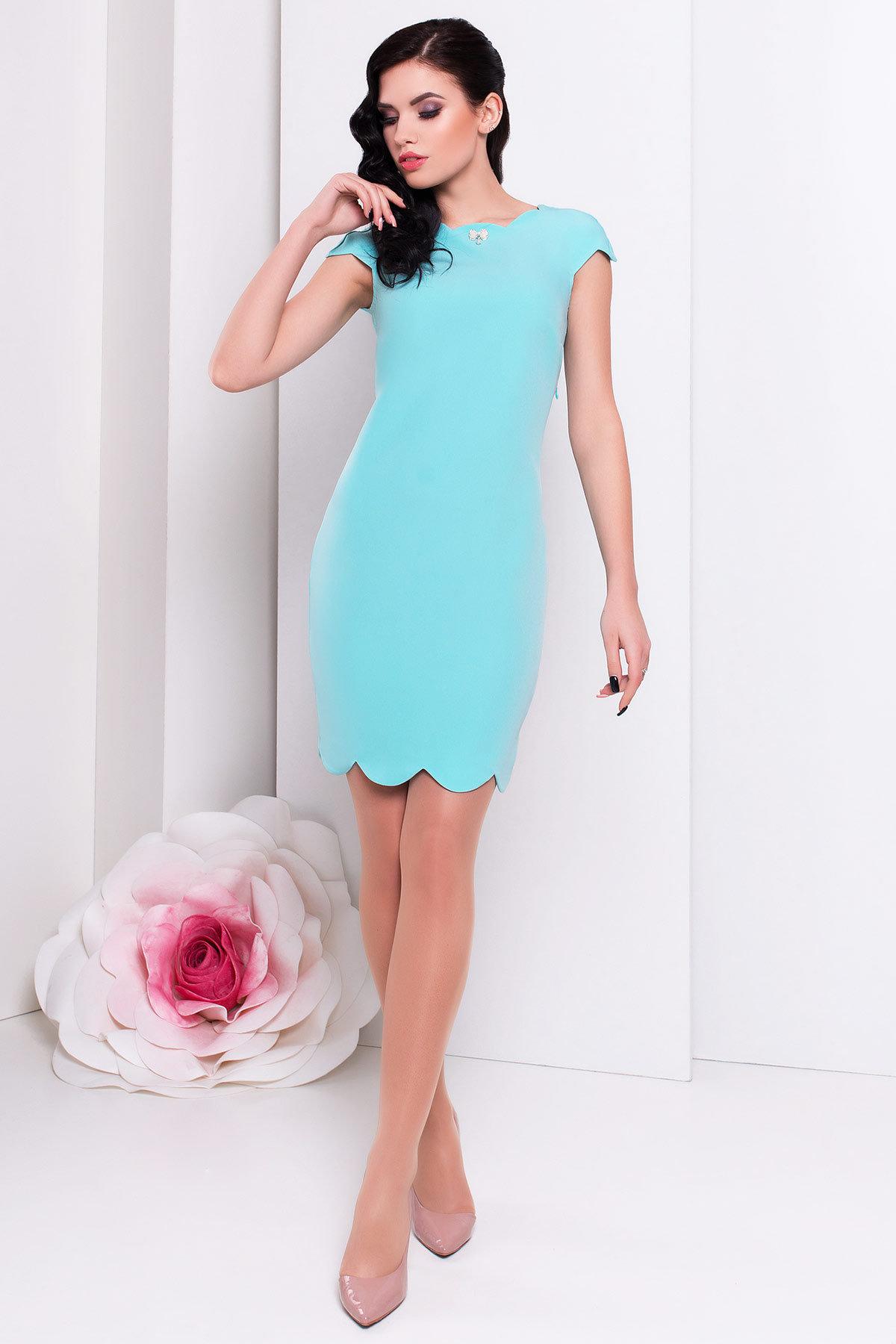 Купить женское трикотажное платье оптом Платье Вельмина 154