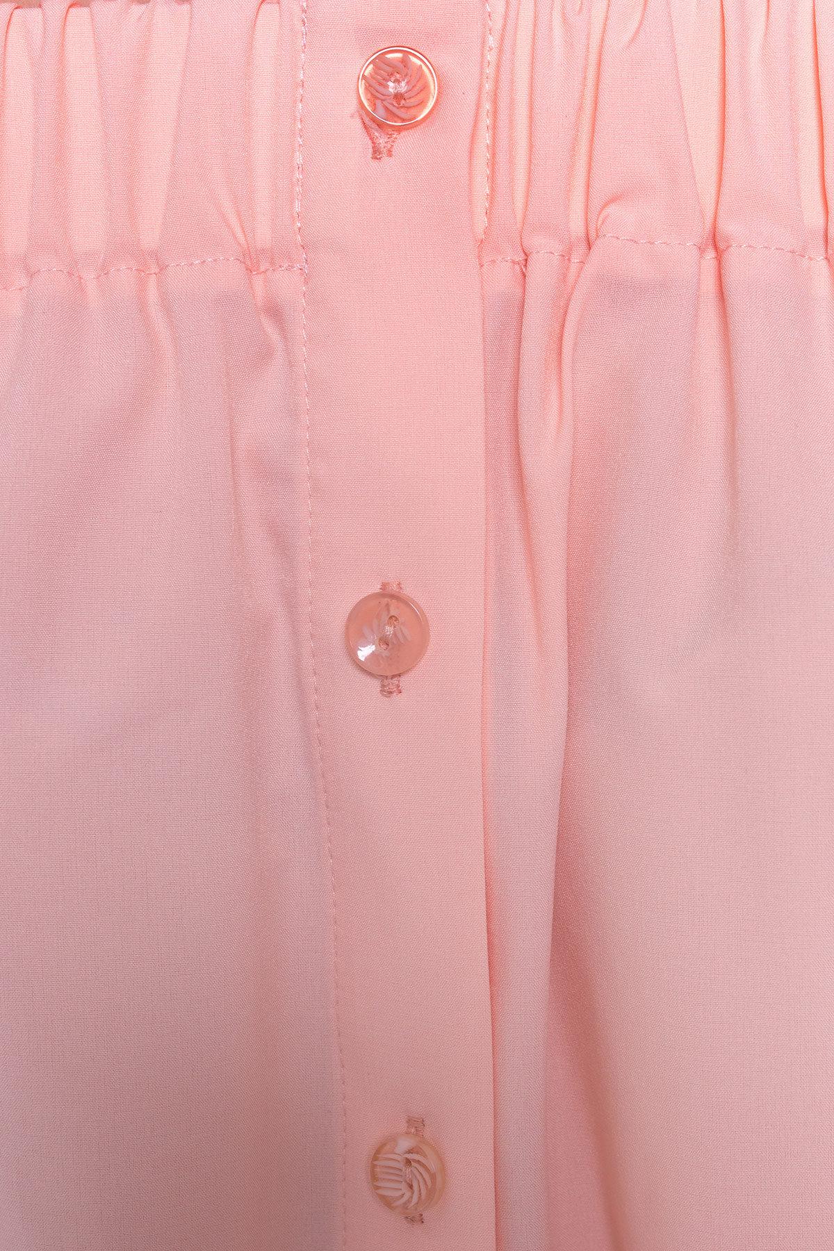 Платье - рубашка Фонда 307 Цвет: Персик