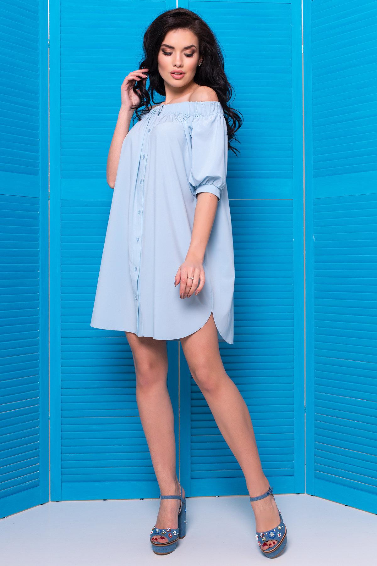 Оптом платье недорого от Modus  Платье - рубашка Фонда 307