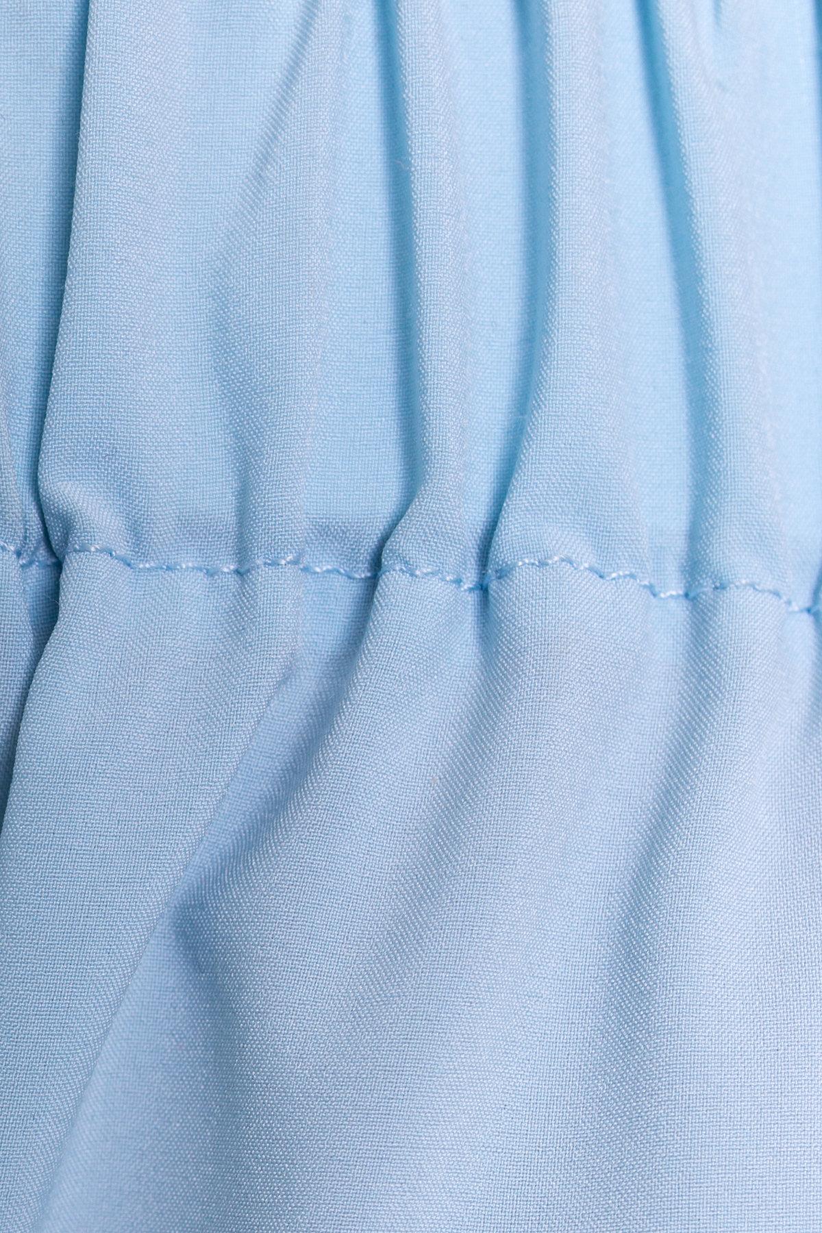 Платье - рубашка Фонда 307 Цвет: Голубой