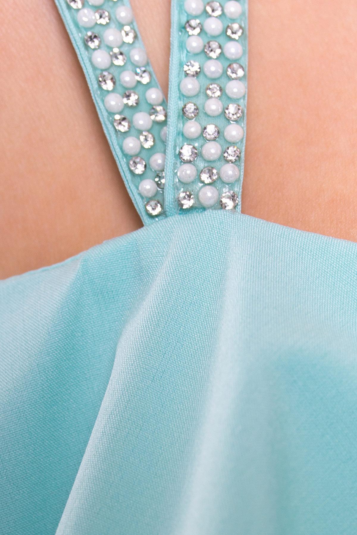 Платье Пикабу макси 354 Цвет: Мята